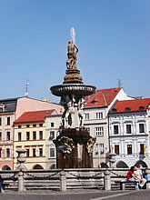ceske budejovice fountain
